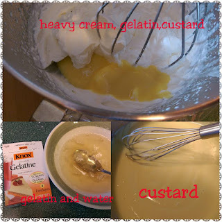 Tort Diplomat Whipped cream and custard topping mix