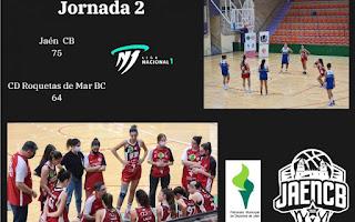 Victoria de las chicas del Jaén CB que se colocan segundas y derrotas jiennenses
