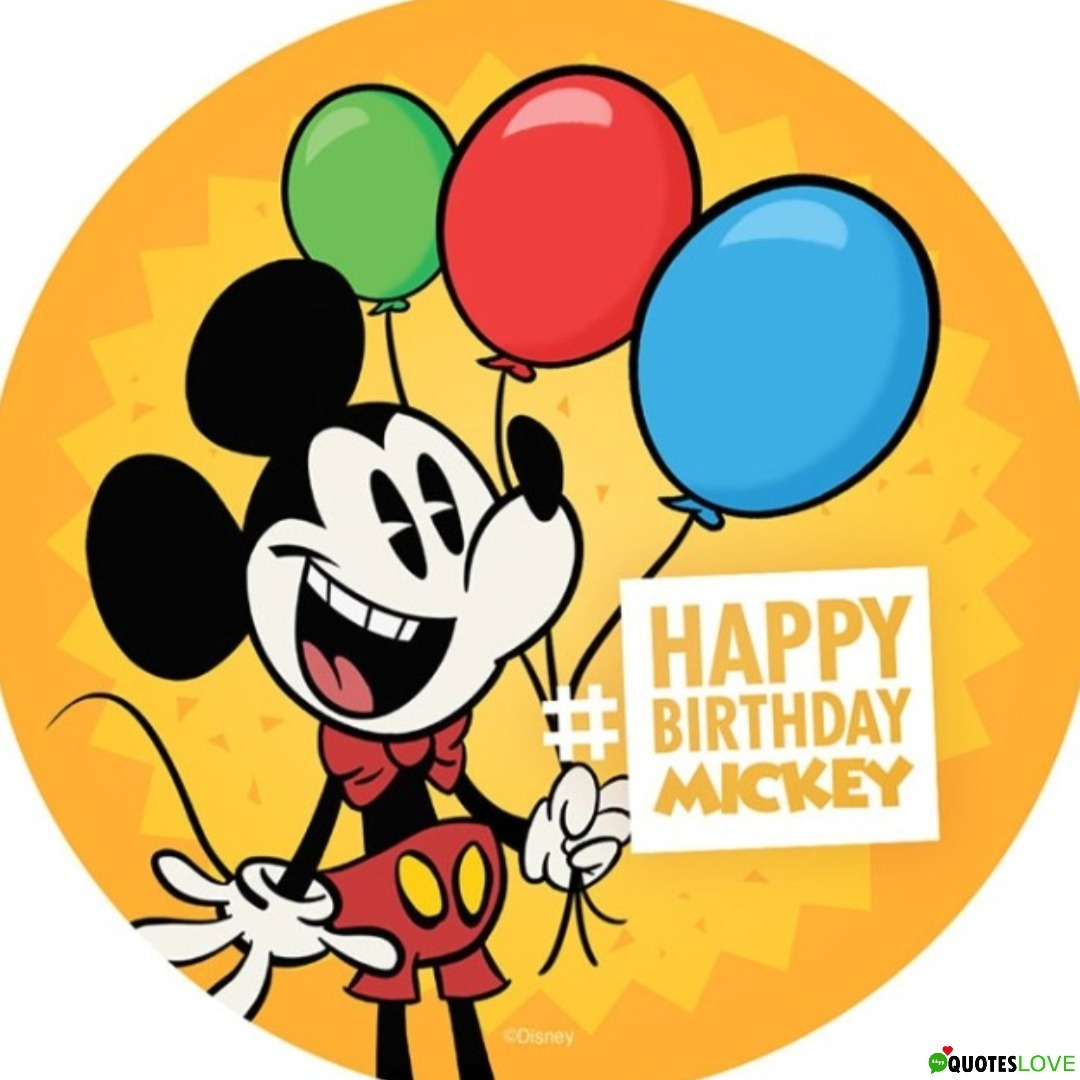 Mickey Mouse Birthday 2019 Images
