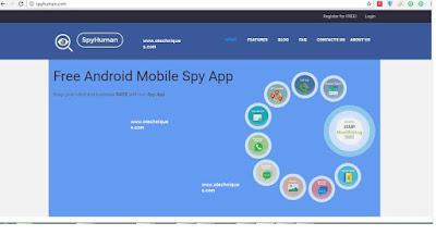 برنامج  سباي هيومن spyhuman الرائع للتجسس على اى هاتف اندرويد