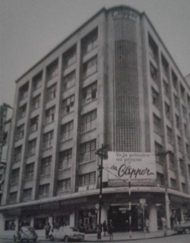 Imagem da fachada da loja A Exposição Clipper, em São Paulo.