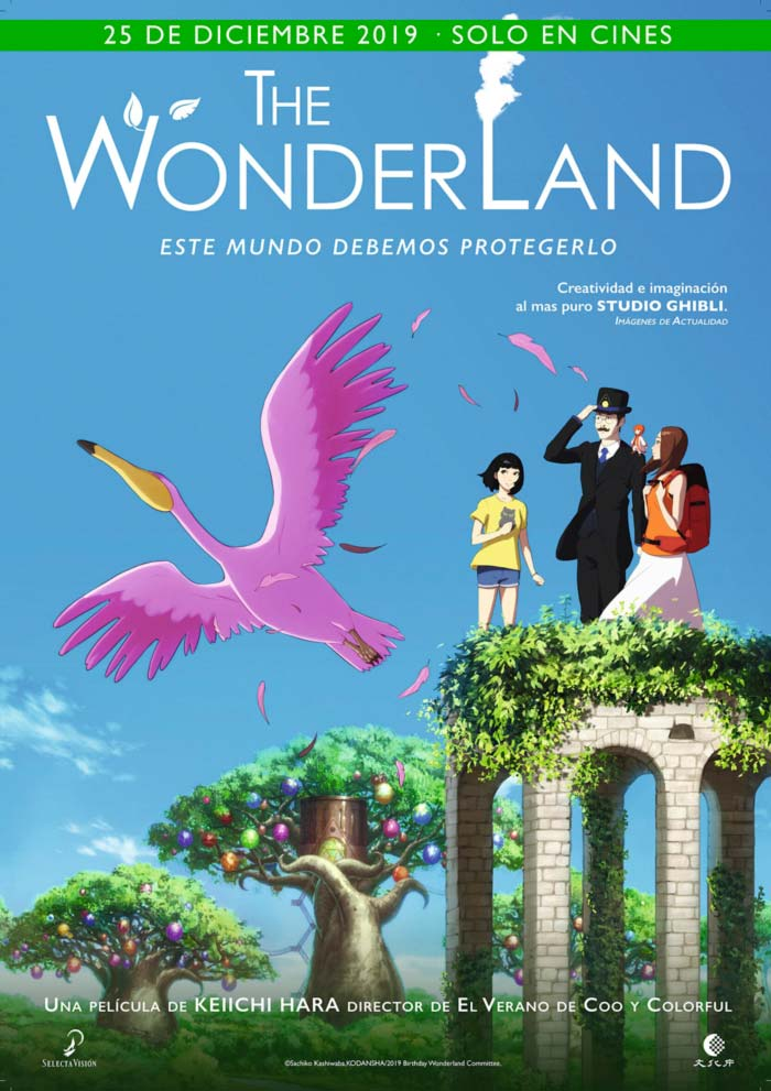 The Wonderland (Birthday Wonderland) anime - Keiichi Hara - Selecta Visión