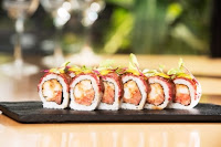Osaka sushi para el día de los enamorados