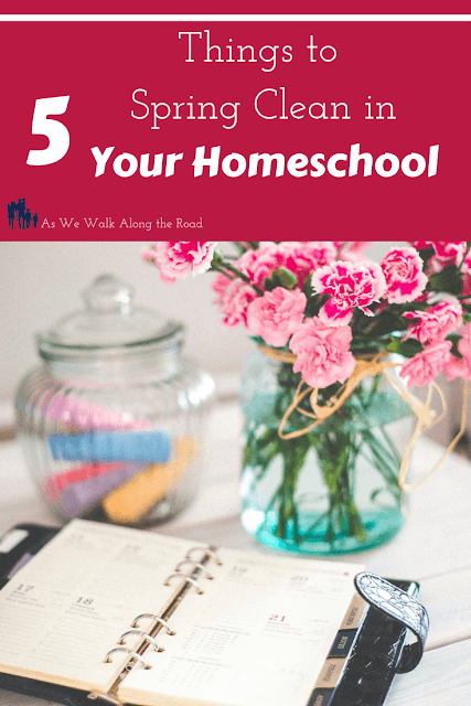 Spring cleaning in your homeschool