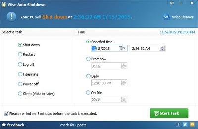 Download Wise Auto Shutdown Terbaru Gratis