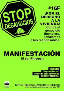 Stop Desahucios, por el derecho a la vivienda