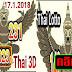 (ผลงานเข้า 823 ตรงๆ) Thai lotto 3ตัวบนเน้นๆ งวดวันที่ 1/02/61