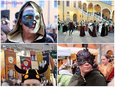 carnevale rinascimentale Ferrara banchetto imbarcadero