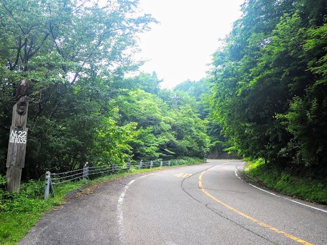 栗山日光線 道標No.22