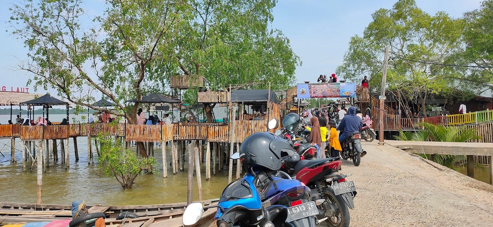 Moment Idul Adha, Wisata Cafe Kampung Laut Diserbu Pengunjung