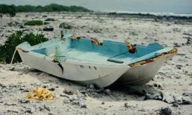 Terdamparnya Kapal Sarah Joe