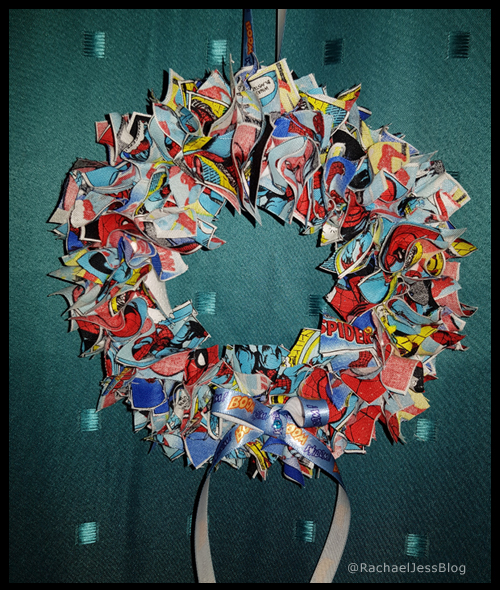 Spiderman Wreath