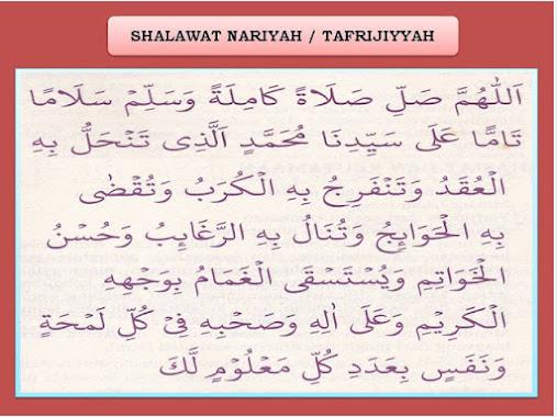 Dzikir Shalawat Nariyah