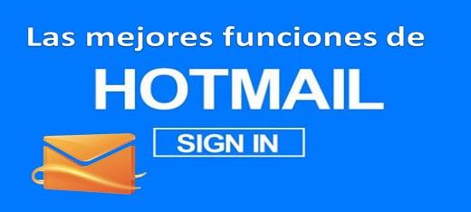 Las mejores funciones de Hotmail