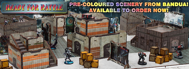 Wayland Games: New Pre-Coloured Bandua Science Fiction Scenery