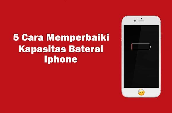 5 Cara Memperbaiki Kapasitas Baterai yang Turun di iPhone
