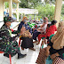 Serka Abdul Kasid Babinsa Anggota Koramil 0708 Cikembar Melakukan Komsos Dengan Warga