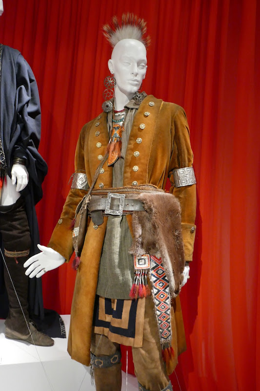 Wesley French Outlander season 4 Chief Nawohali costume