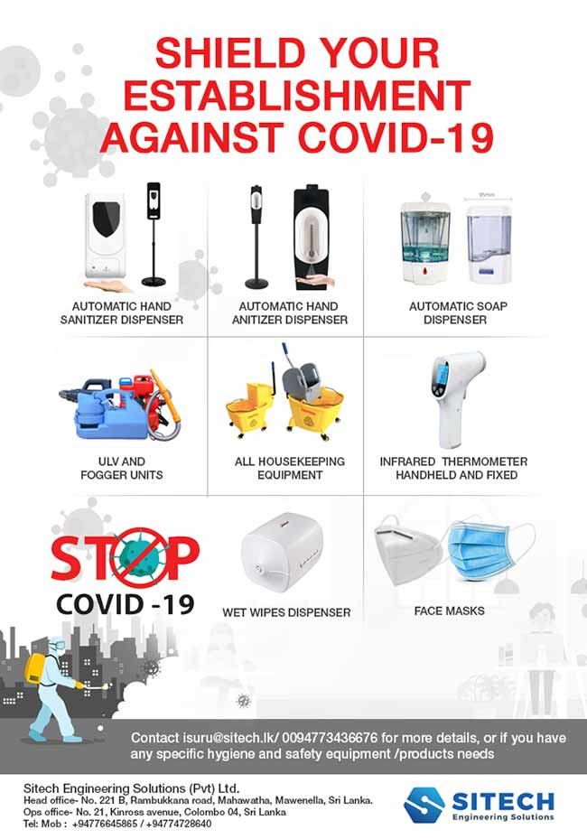 SITECH | Safety equipment for your establishment - COVID 19.