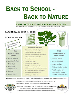 Back to School- Back to Nature event Flyer