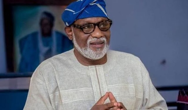 I ' m Not Bothered If ' Operation Amotekun ' Will Cost Me Second Term Ambition – Akeredolu