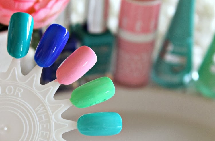 Spring Pastel Nail Polishes Swatches