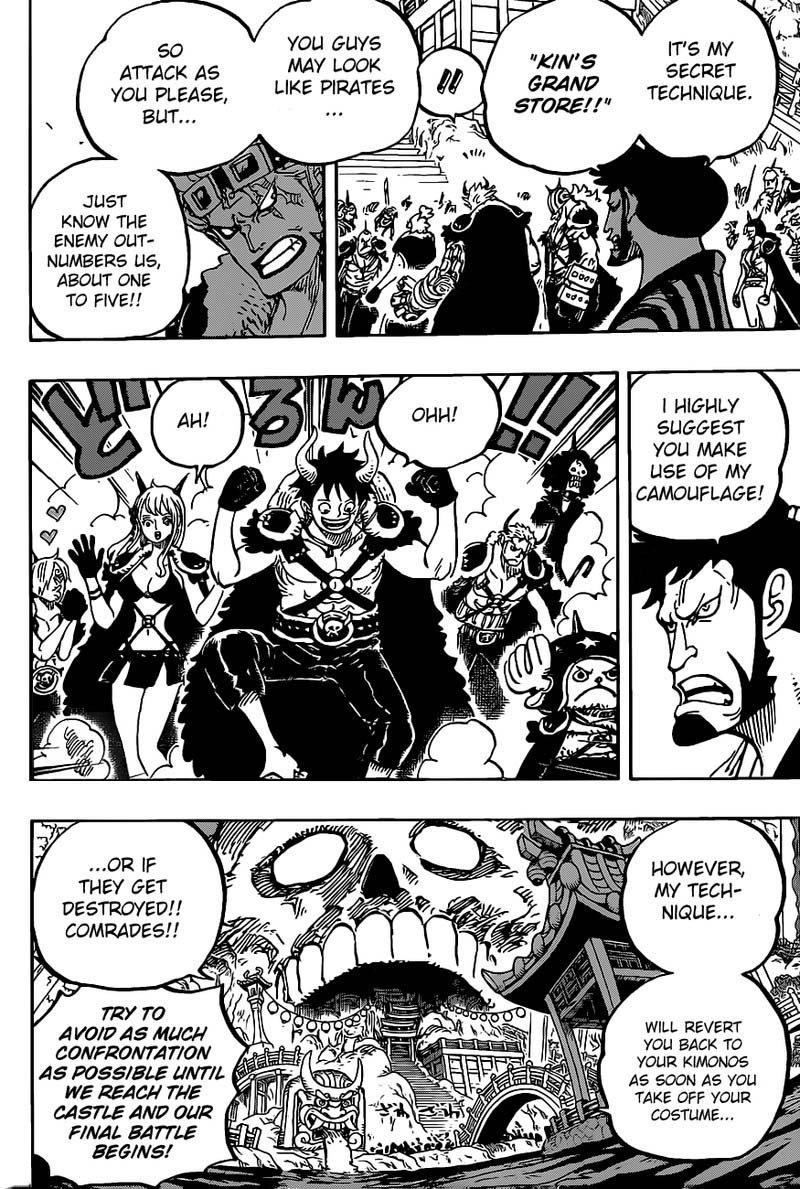 One Piece Manga Chapter 978 - Image 010
