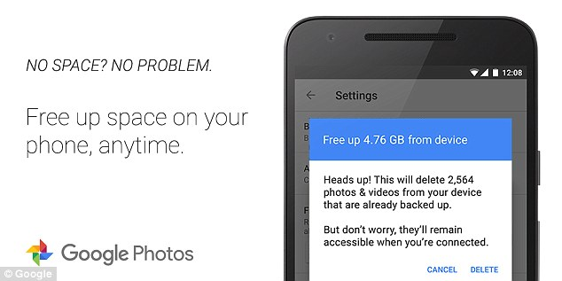 Google Photos Update Makes It Easier to Free on Your Phone