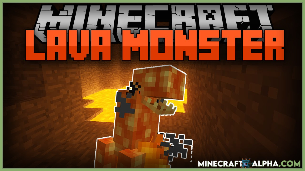 Minecraft Lava Monsters Mod For 1.17.1/1.16.5 (Deadly Beasts Living in the Lava)