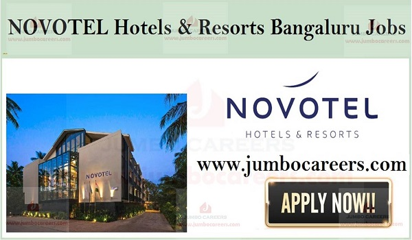 Available hotel jobs in Bangaluru,