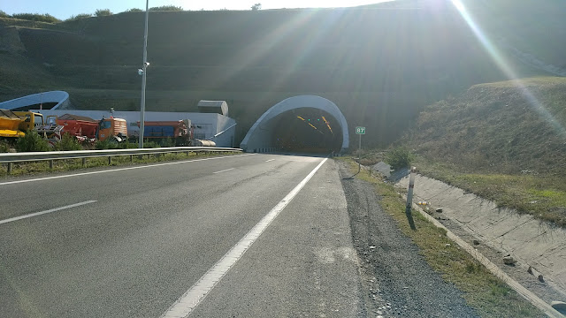 Туннель в Грузии