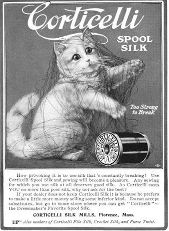 Kitty With Spool