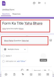 Google Form untitled
