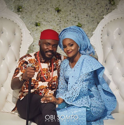 Photos from George Okoro & Rakiya's introduction & engagement ceremony