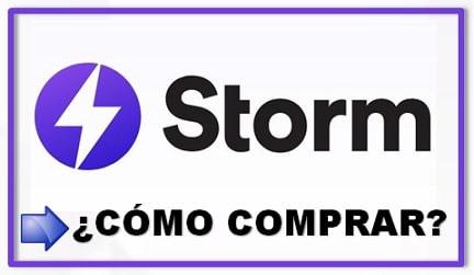 Comprar y Guardar en Monedero Criptomoneda STORM