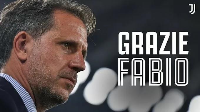 Juventus director Fabio Paratici leaves the club
