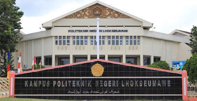Jurusan & Program Pendidikan apa saja yang ada di Politeknik Negeri Lhokseumawe   Perguruan Tinggi Negeri