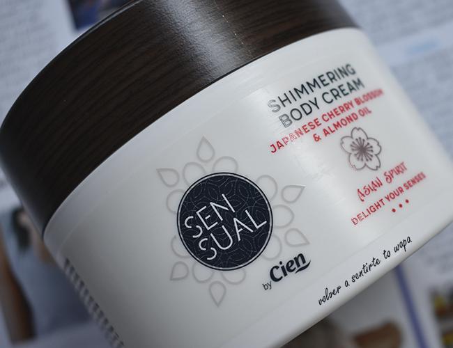 Gama Asian Spirit de los productos SENSUAL de Lidl - Shimmering Body Cream - Crema del Cuerpo Iluminadora