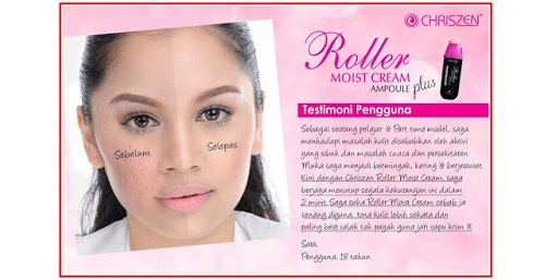 harga produk chriszen, Chriszen Roller Moist Cream testimoni, kebaikan chriszen roller moist cream review, chriszen roller moist cream murah, chriszen roller review, chriszen roller price, chriszen roller foundation