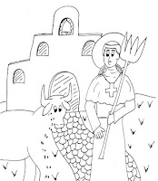 Jesus Sends Out The Disciples Coloring Page Coloring Pages