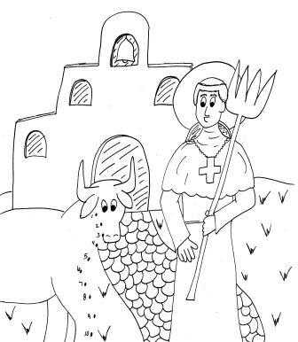 Jesus Feeds 5000 Preschool Coloring Sheet
