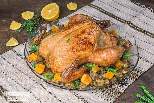 Курица в духовке целиком: рецепт с хрустящей корочкой по Хестону Блюменталю