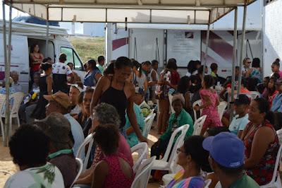 Santa Casa/FJS encerra Feiras de Saúde neste domingo em Jequié com anuncio de que em março terá mais
