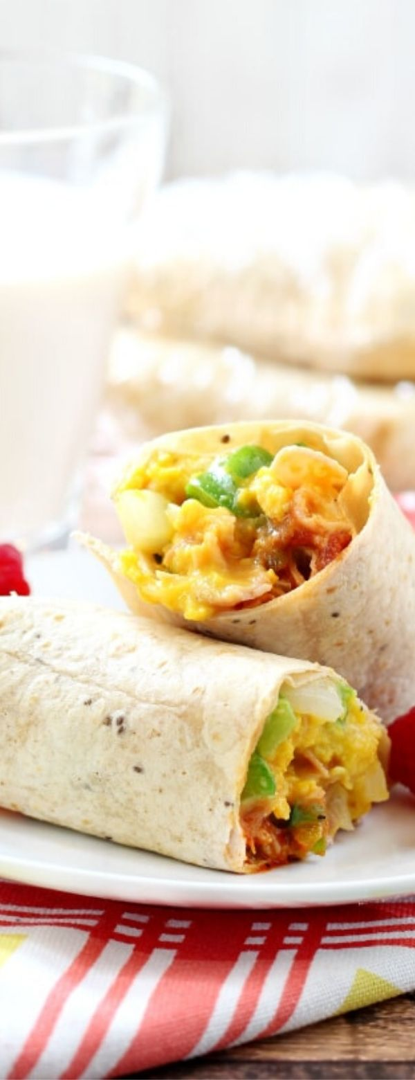Western-Style Breakfast Burritos