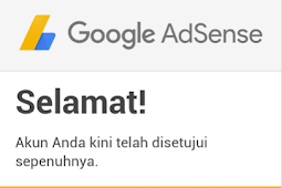 Cara Sekali Daftar Google AdSense Langsung Diterima