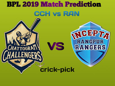 CCH vs RAN Today Match Prediction |  BPL T20 16th match |  Who Will Win Today Match