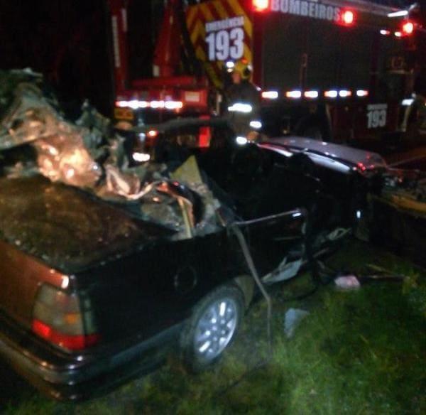 Acidente deixa uma vítima fatal na BR 116 em Mafra