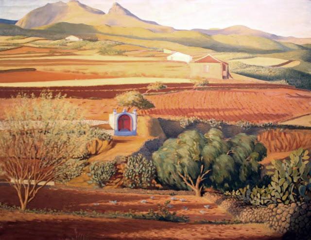 Pedro de Guezala, Paisajistas españoles, Paisajes de Pedro de Guezala, Pintor español, Pintores de Tenerife, Pintor Pedro de Guezala