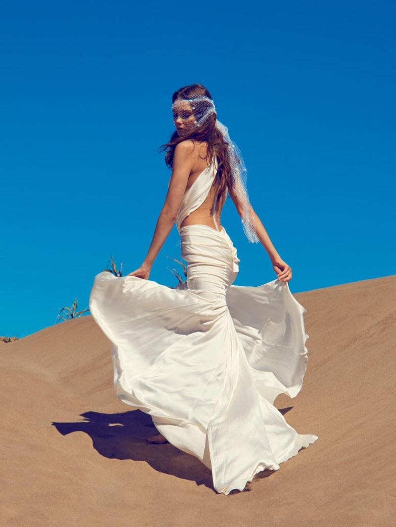 Ramon Herrerias Bridal 2020 Lookbook by Olga Rubio Dalmau
