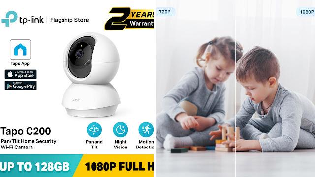 TP Link Wifi Camera Tapo C200
